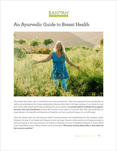 The Ayurvedic Guide to Breast Health PDF