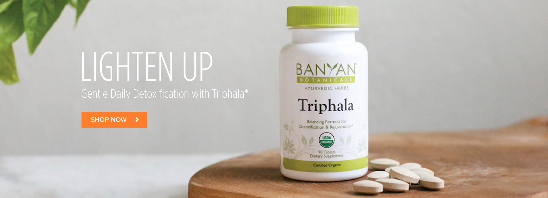 Lighten Up! Gentle Daily Detoxification with Triphala*