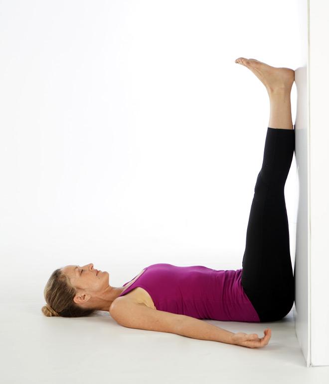 Ayurveda Vata Pacifying Yoga: Legs Up the Wall   Banyan ...