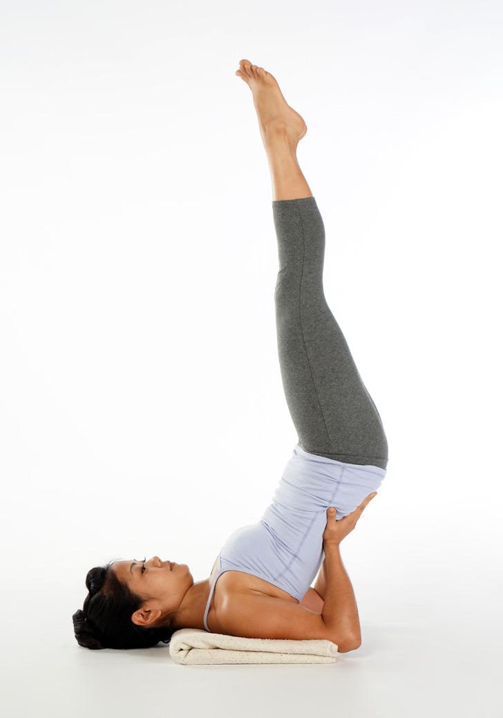Image result for Half Shoulder Stand