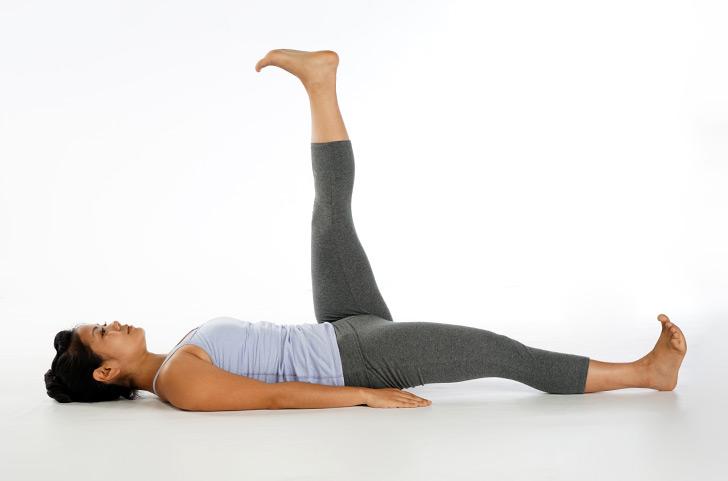 Ayurveda Pitta Pacifying Yoga Leg Lifts Banyan Botanicals
