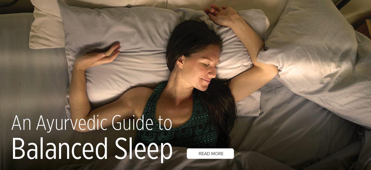 Barbara Sinclair Banyan Botanical Ayurveda's Tough Love Recipe for a Good Night's Sleep