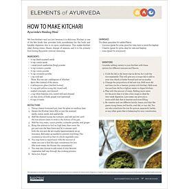 Elements of Ayurveda—How to Make Kitchari