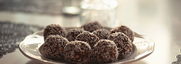 Pitta-Pacifying Recipe: Coconut Ginger Truffles