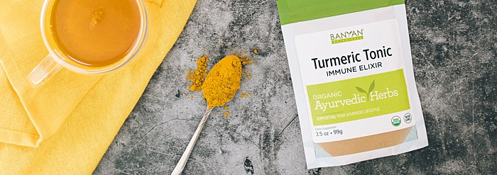Turmeric Tonic—Immune Elixir for Gargling & Wellness